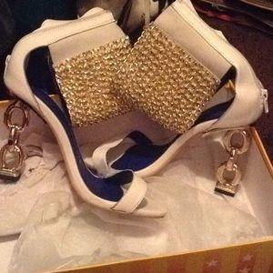 Sharp Jeffrey Campbell heels
